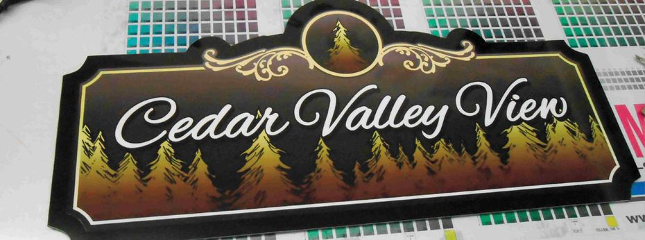 Sign 2 | Cedar Valley View