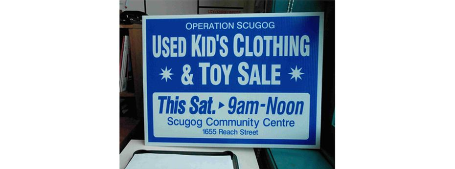 Sign 5 | Used Kid's Clothing & Toy Sale