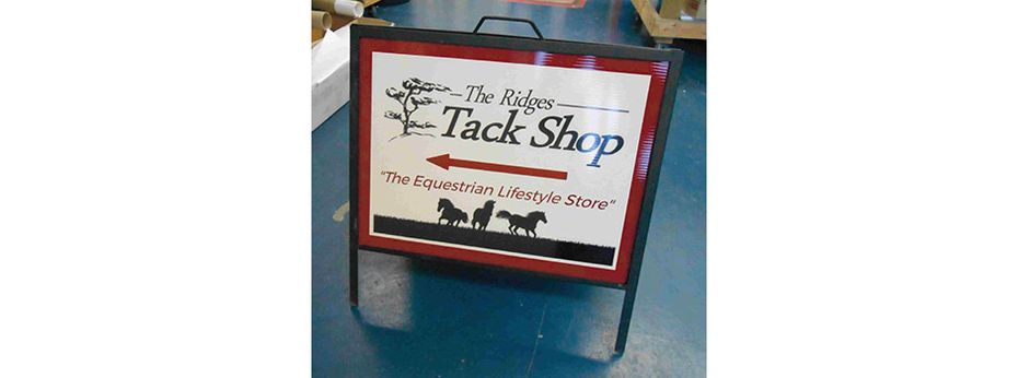 Sign 12 | The Ridges Track Shop