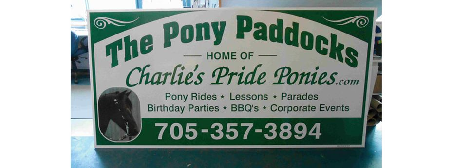 Sign 15 | The Pony Paddocks
